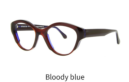 Lunettes de vue - The Wonderful - Acétate bloody blue