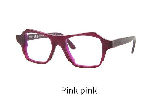 Lunettes de vue - The Eyepeace - Acétate mat pink pink