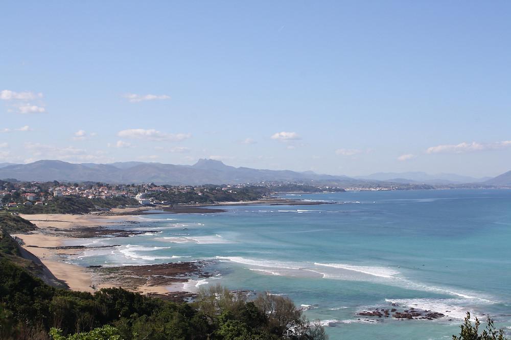 la côte basque et ses paysages