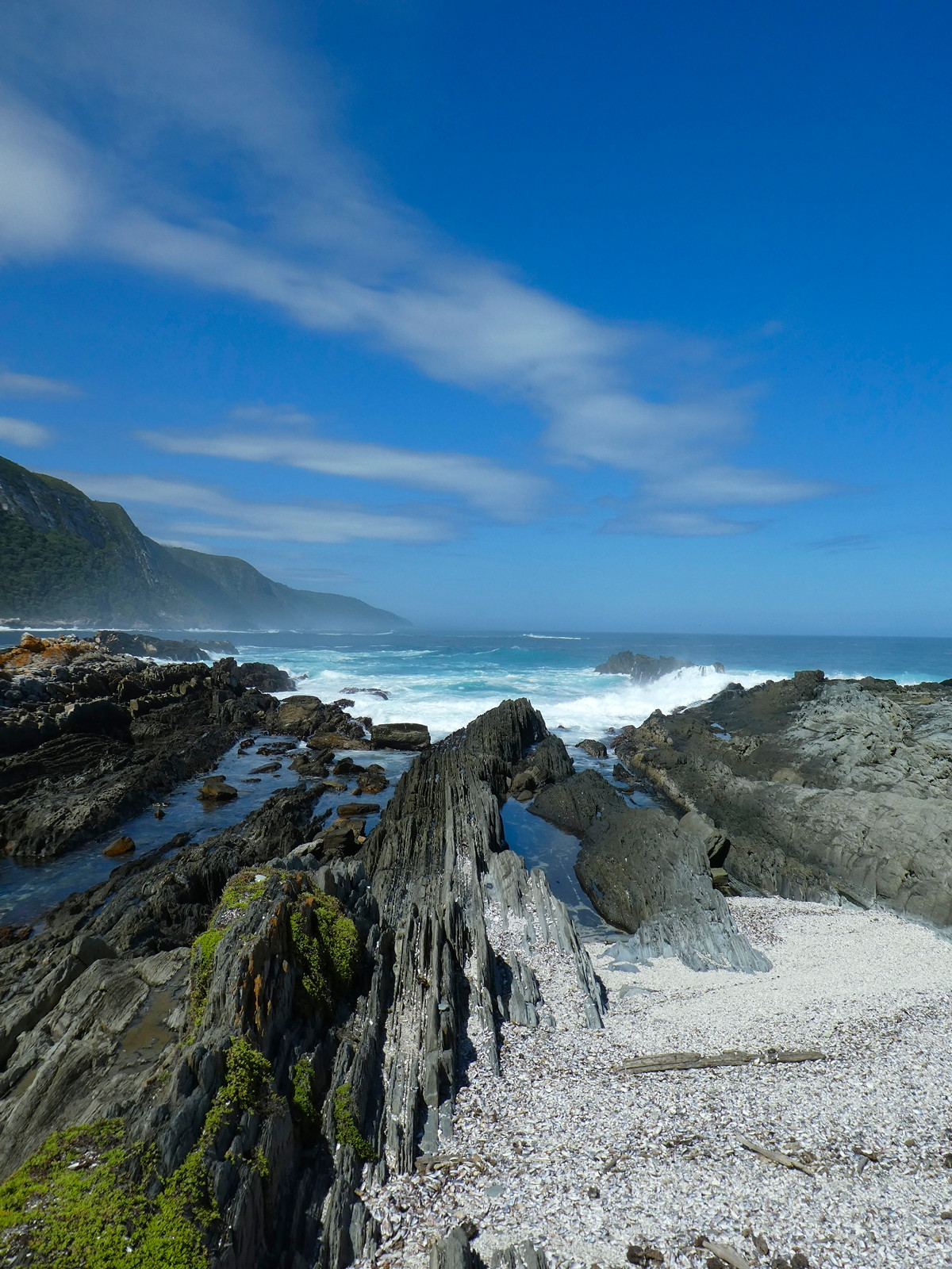 COLOUR - South African Seascape by Paul Johnston (7 marks)