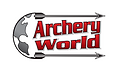 Archery World Logo red and white.PNG