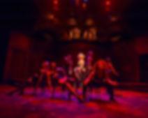 Cabaret lighting design by Josh Hemmo