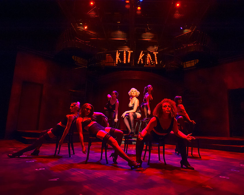 Cabaret lighting design by Josh Hemmo