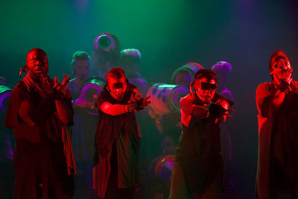 Revelation: The Musical off-braodway lighting design by Josh Hemmo