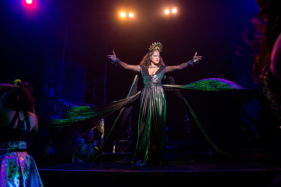 Cleopatra: A New Pop Experience lighting design by Josh Hemmo in New York City, Theater for a New City