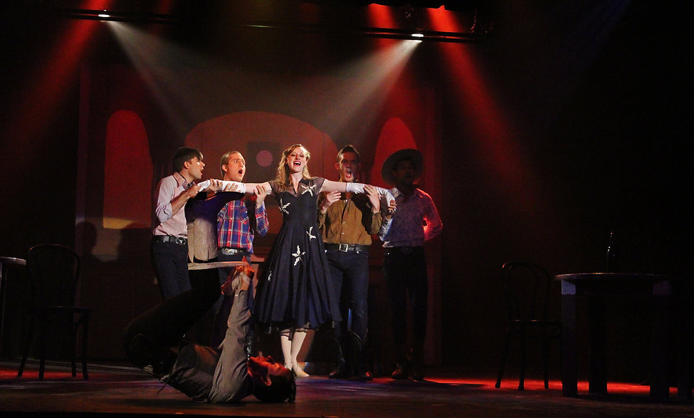 Crazy For You lighting design by Josh Hemmo