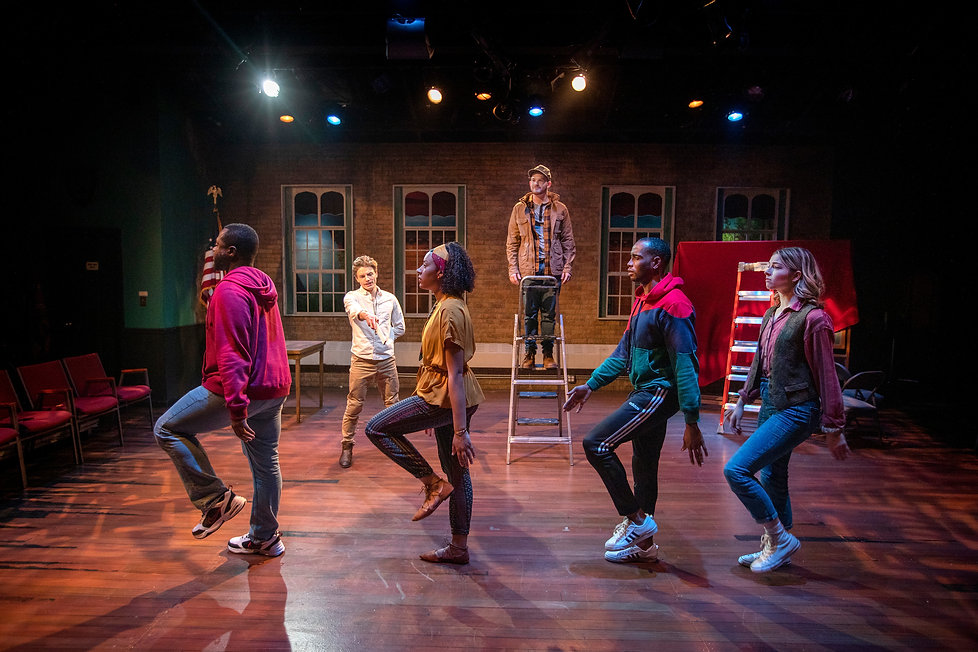 We Are Proud To Present lighting design by Josh Hemmo