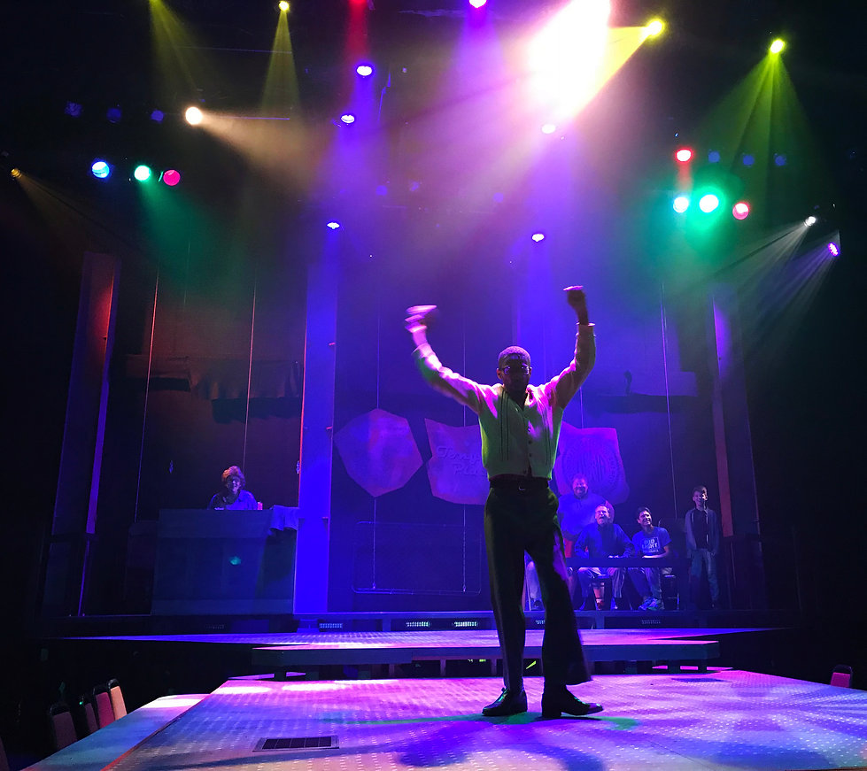 The Full Monty lighting design by Josh Hemmo