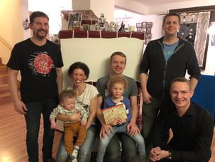 Spendenübergabe an Familie Wögerbauer