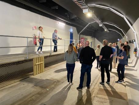 Nordic Edge: Ekskursjon til Demotunnelen Ganddal