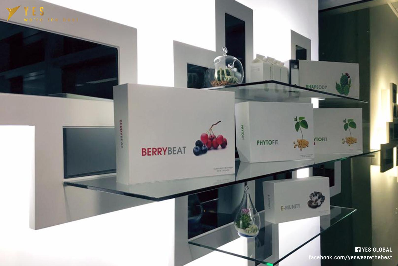 Food Products Display @ eLEAD HK