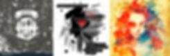Андрей Павловский. В помощь клиенту. Подборка рекламных материалов в стиле ГРАНЖ (Grunge)