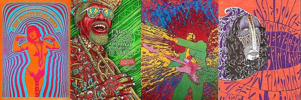 Андрей Павловский. В помощь клиенту. Подборка рекламных материалов в стиле ПСИХОДЕЛИКА (Psychedelic)