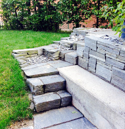 Mauer und Treppe Freestyle