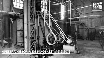 Maquinaria fábrica - 1930