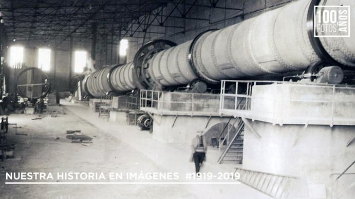 Interior de fabrica -montaje de horno