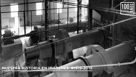 Maquinaria instalada en planta - 1930