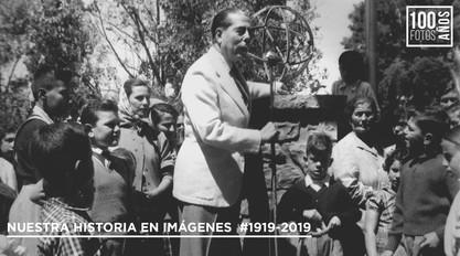 Alfredo Fortabat en la Villa -1956