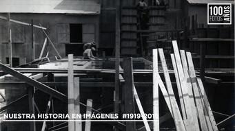 Operarios trabajando en fábrica