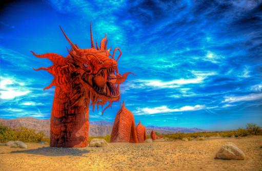 Sand Serpent in the Sun