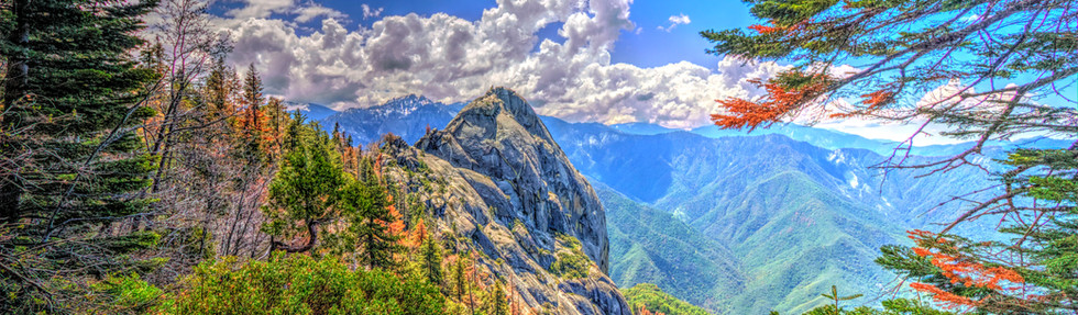 Moro Rock from Hanging Rock Trail