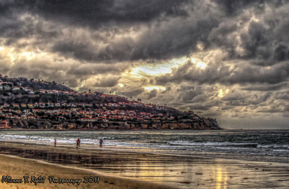 Evening at the Beach 02-02-14