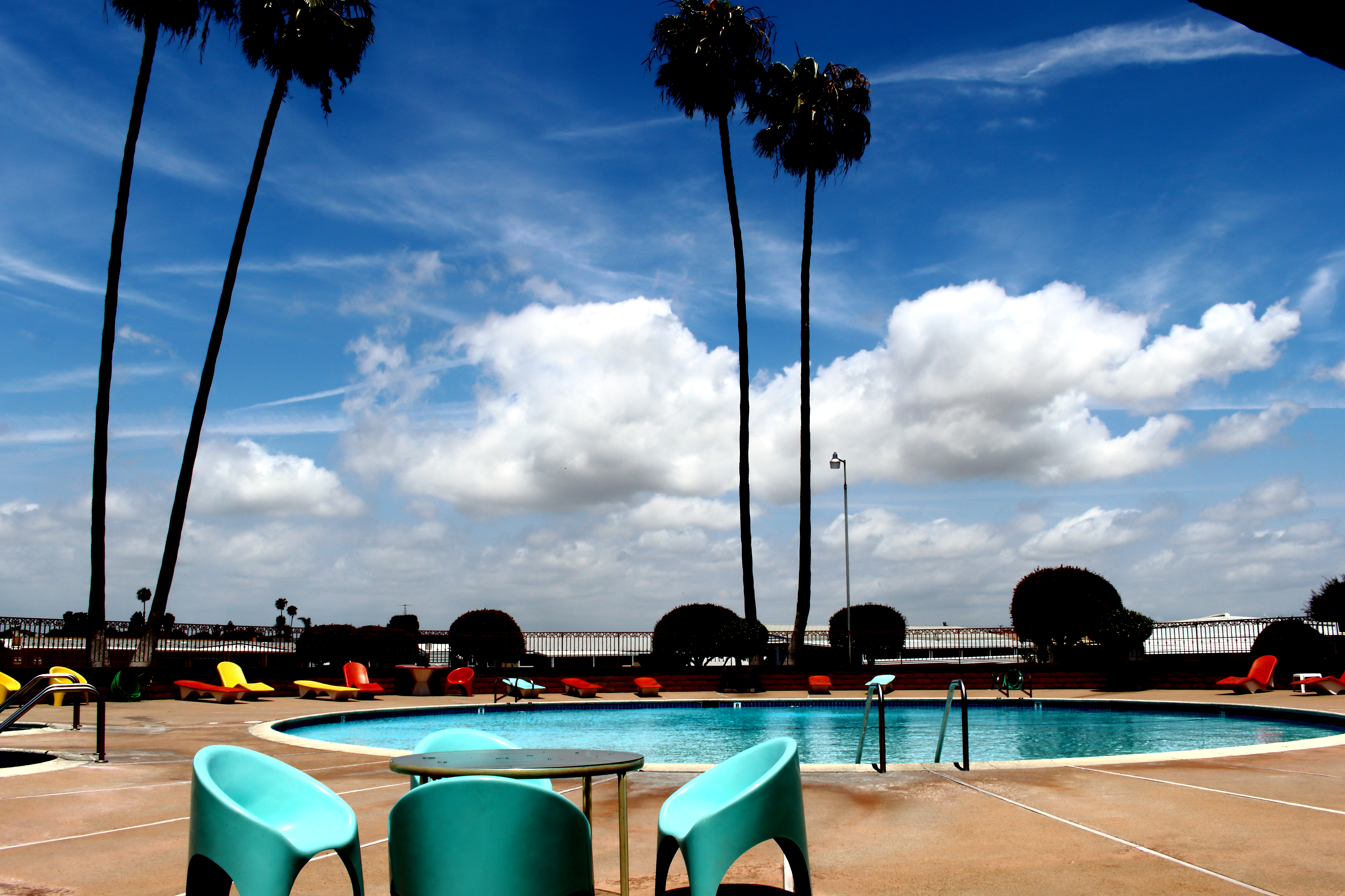 Sitting Poolside May 2015