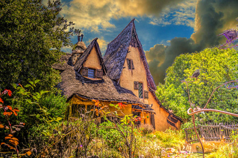 Witch's House with Cloudscape