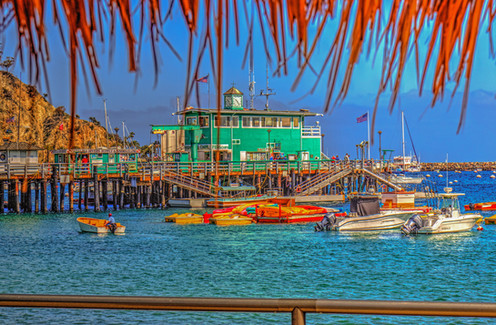 Avalon Green Pier