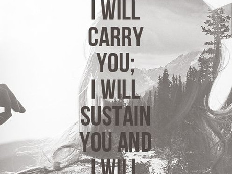 Friday Inspiration: He will rescue us.