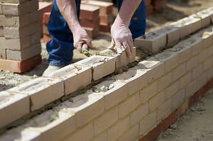 Man building an extension in kent
