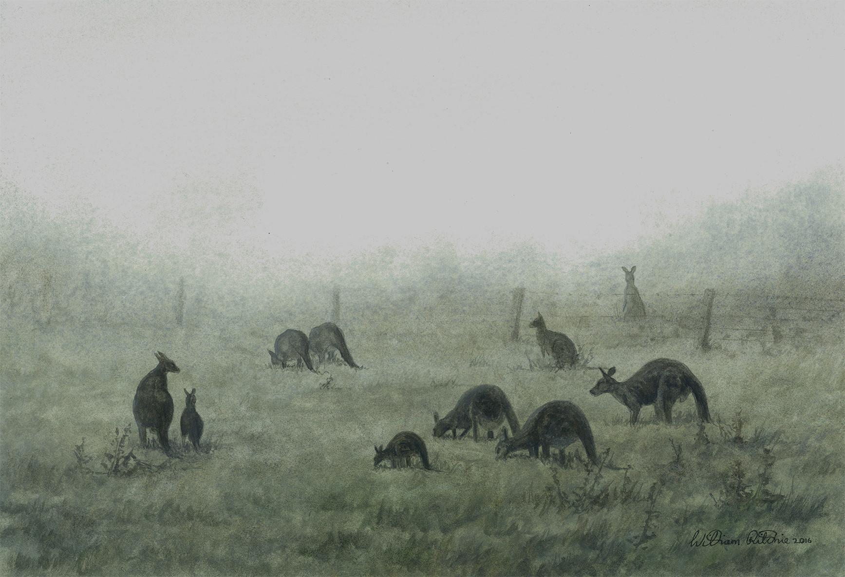 Figures in the Mist