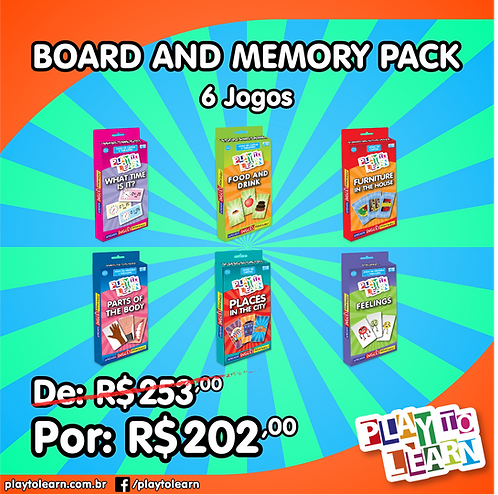 Promoção Board and Memory Pack