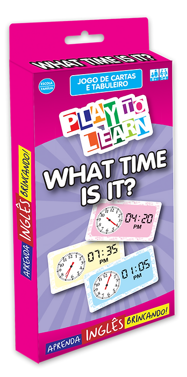 Jogo What Time Is It?
