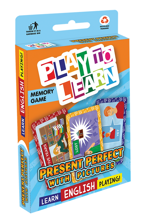 JOGO PRESENT PERFECT WITH PICTURES