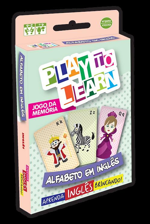 Jogo da Memória Alfabeto em Inglês