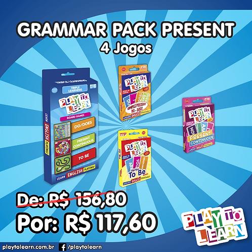 Promoção Grammar Pack Present