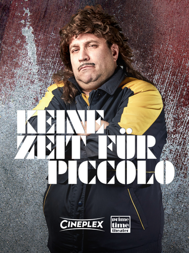 Plakat-Keine-Zeit-Für-Piccolo-GWSW-127-Prime Time Theater-Kalle Witzkowski