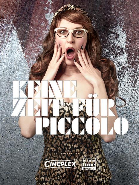 Plakat-Keine-Zeit-Für-Piccolo-GWSW-127-Prime Time Theater-Uschi Sonne