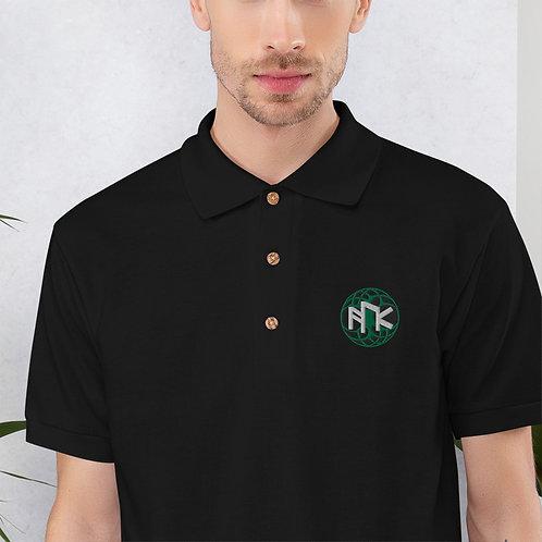 Asatru UK Embroidered Polo Shirt