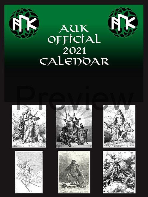 AUK Official 2021 Calendar