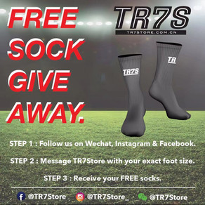 TR7S SOCK GIVEAWAY!!