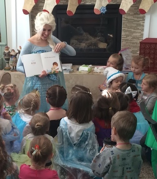 Elsa story party ideas Utah princess