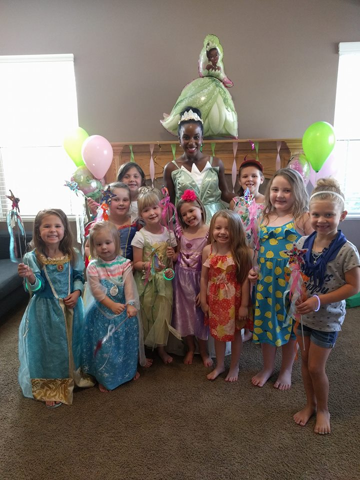 Tiana Princess & the Frog Party Idea