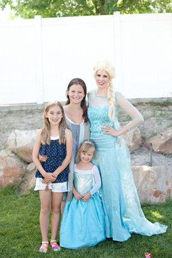 Elsa Frozen Birthday Parry Ideas