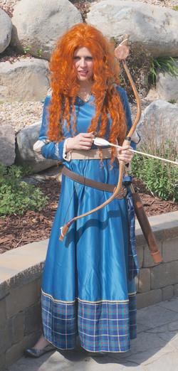 Merida Brave Princess Party Ideas