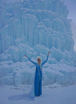 Best Elsa at Ice Castles Midway Utah