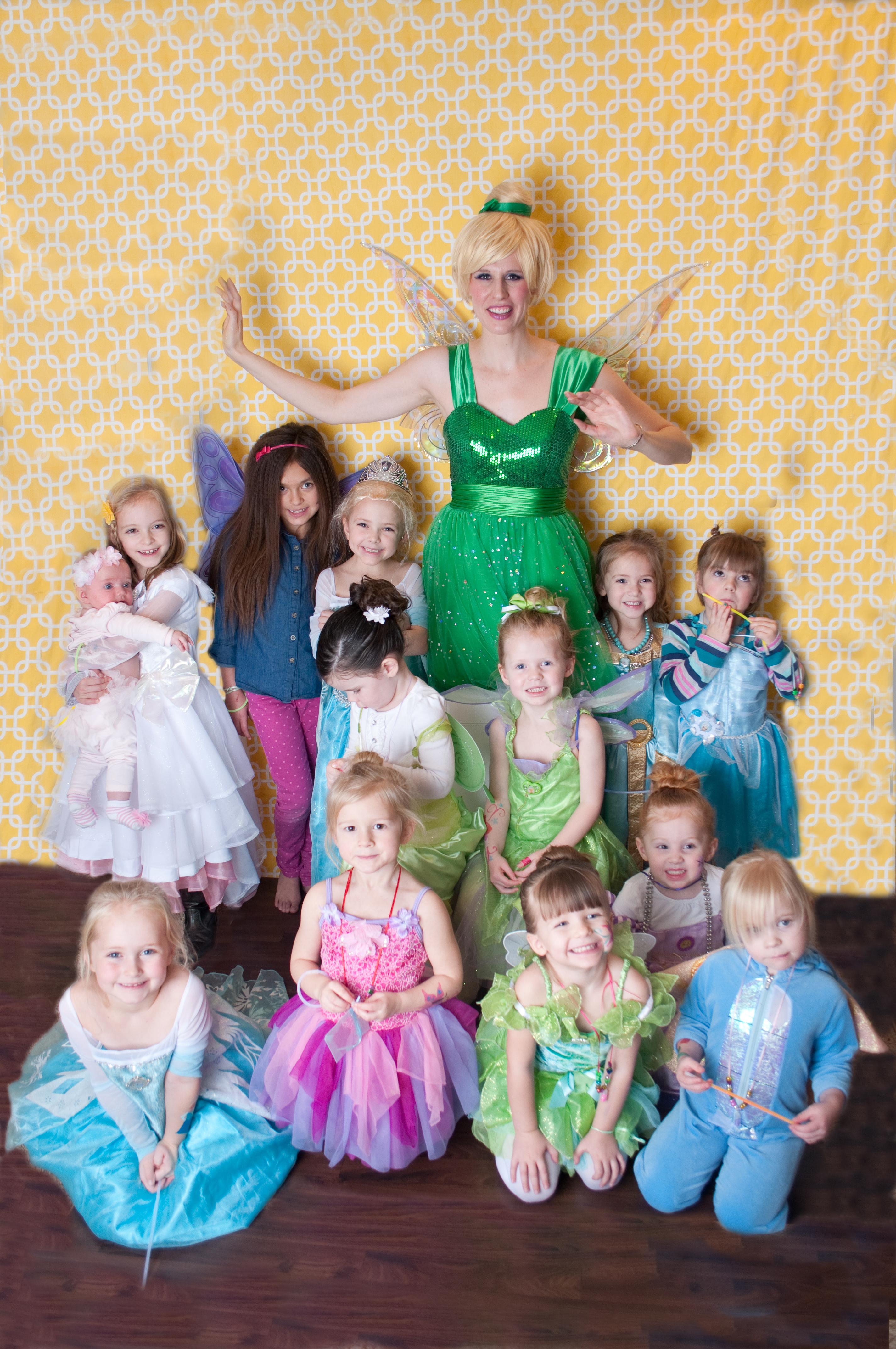 professional princess party actresss