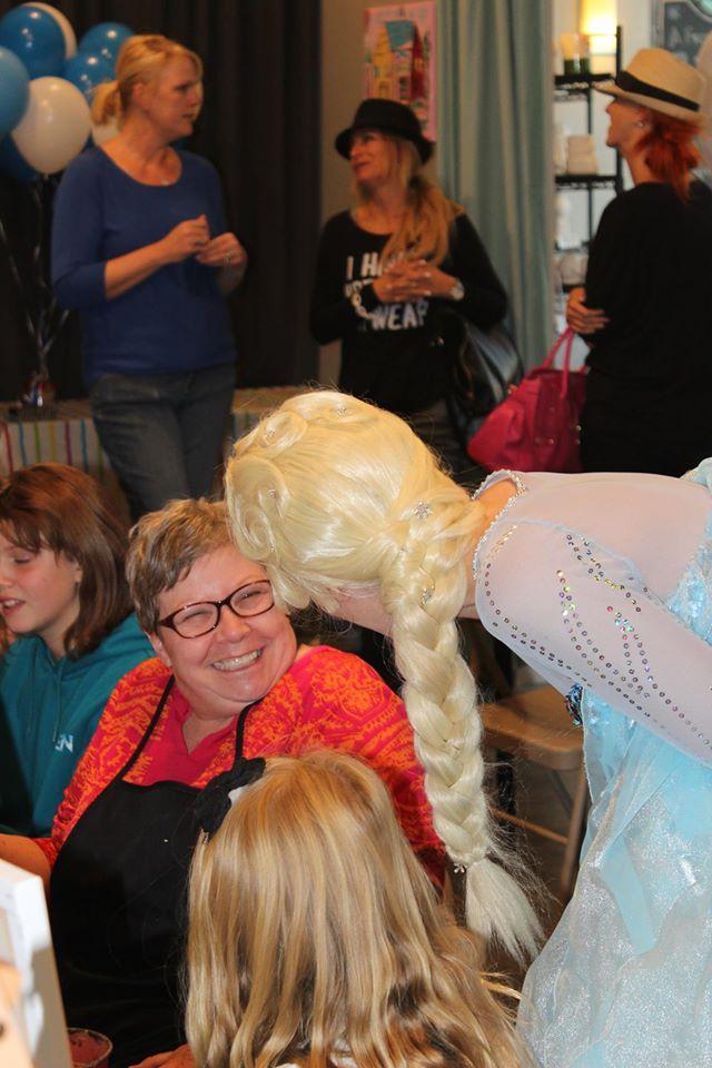 Painters Palette Princess Party