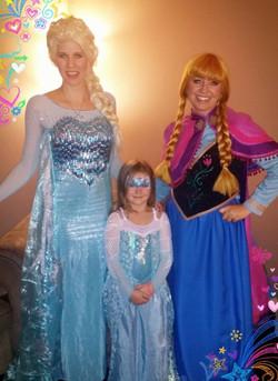 Elsa and anna for hire Utah